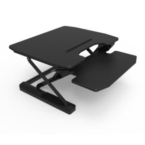 28.3'' Ergonomics Sit-Stand Desk Gas Spring And Dual Squeeze Handles-JT001