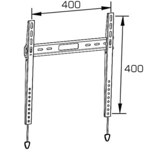 Universal Flat Screen TV Wall Mount Fixed for 32''-55''- AG015